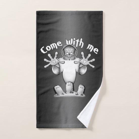 Come with me. bath towel set