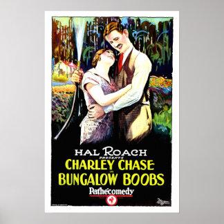 Comedia de Hal Roach del cartel de película del vi Impresiones