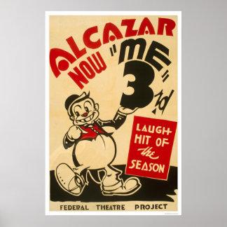 Comedia federal del teatro WPA 1938 Impresiones