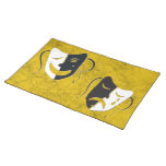 Comedia y tragedia - Placemat Manteles Individuales
