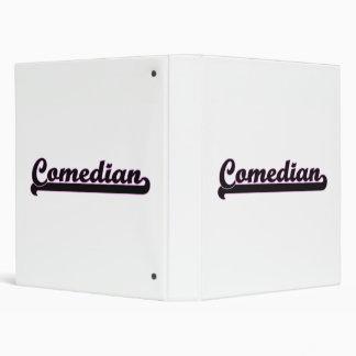 Comedian Classic Job Design 3 Ring Binders
