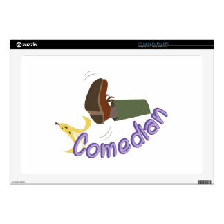 Comedian Decals For Laptops
