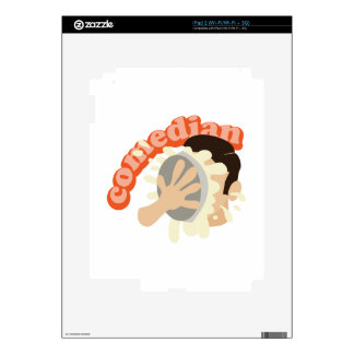 Comedian Decals For The iPad 2