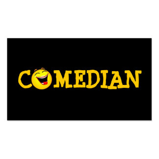 Comedian Entertainment Performer Comedy Theater Double-Sided Standard Business Cards (Pack Of 100)