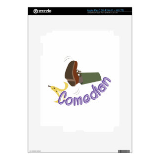 Comedian iPad 3 Decals