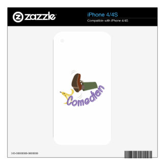 Comedian iPhone 4S Decal