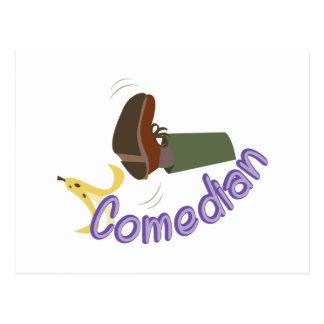 Comedian Postcard