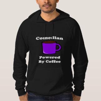 """Comedian"" Powered by Coffee Hoodie"