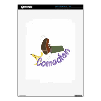 Comedian Skin For The iPad 2