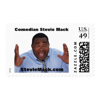 Comedian Stevie Mack Merchandise Stamps