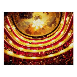 Comedie Francaise Theater, Paris, France Postcards