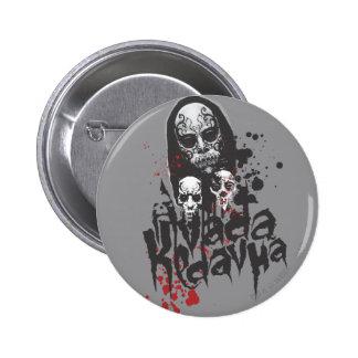 Comedor Avada Kedavra de la muerte Pin Redondo De 2 Pulgadas