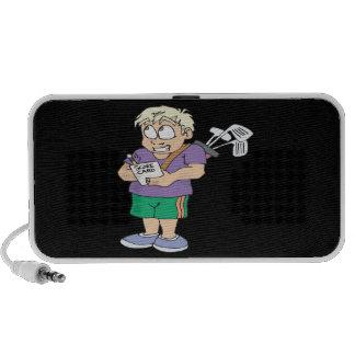 Comedor de la calabaza del tramposo del tramposo iPod altavoces