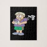 Comedor de la calabaza del tramposo del tramposo puzzle con fotos