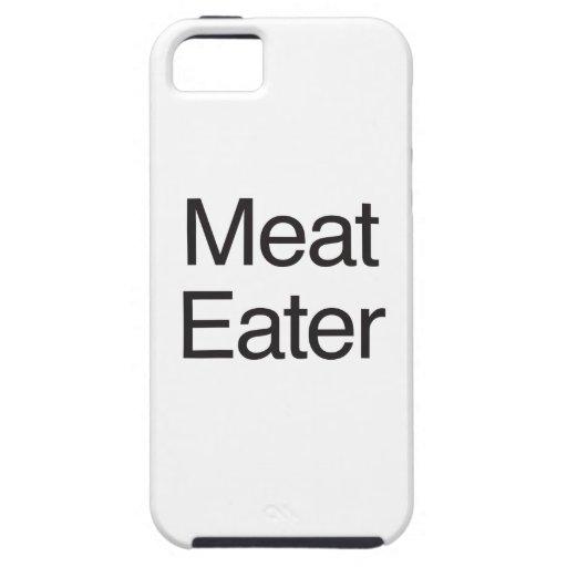 Comedor de la carne iPhone 5 funda