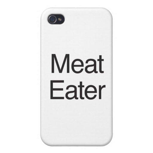 Comedor de la carne iPhone 4 coberturas