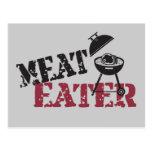 Comedor de la carne postal