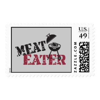 Comedor de la carne sello
