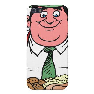 Comedor de la salchicha iPhone 5 cobertura
