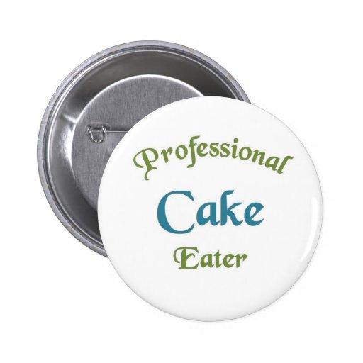Comedor profesional de la torta pins