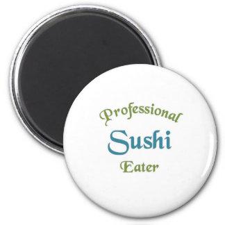Comedor profesional del sushi iman de nevera