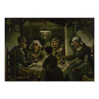 Comedores de la patata de Vincent van Gogh Fotografías