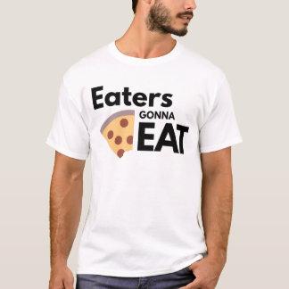 Comedores que van a comer playera