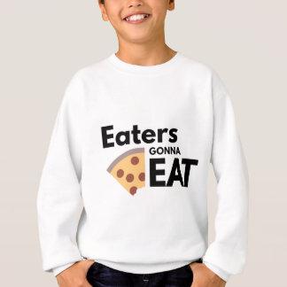 Comedores que van a comer sudadera