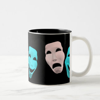 comedy-157719  comedy face theater tragedy masks r coffee mugs