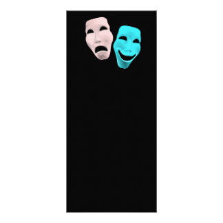 comedy-157719  comedy face theater tragedy masks r rack card