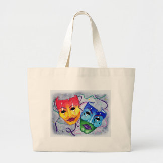 Comedy and Tragedy Canvas Bag