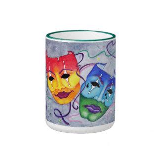 Comedy and Tragedy Coffee Mugs