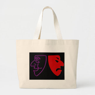 Comedy and Tragedy II Canvas Bag