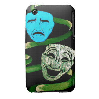 Comedy and Tragedy iPhone 3 Case-Mate Case