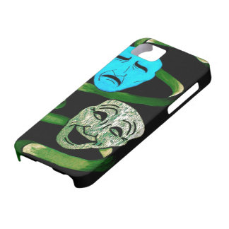 Comedy and Tragedy iPhone 5 Case