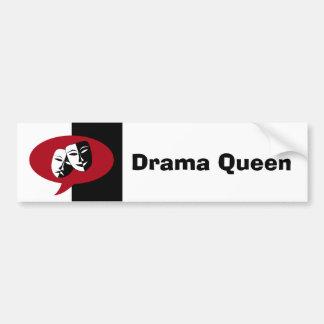 Comedy and Tragedy Masks Bumper Sticker