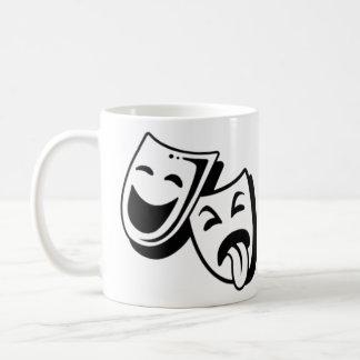 Comedy and Tragedy Masks Coffee Mug