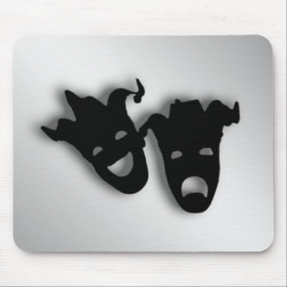 Comedy and Tragedy  Masks Theater Mouse Pad