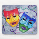 Comedy and Tragedy Mouse Pad