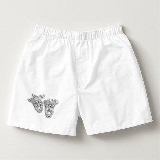 Comedy and Tragedy Silver Theater Boxers