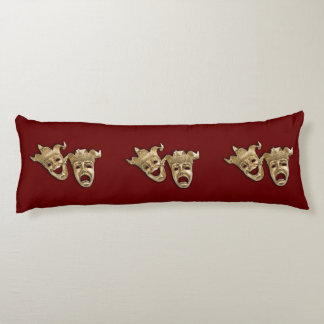 Comedy and Tragedy Theater Body Pillow