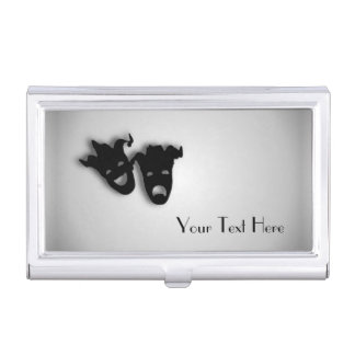 Comedy and Tragedy Theater Business Card Case