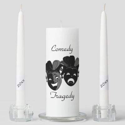 Comedy and Tragedy Theater Jester Masks Personal