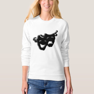 Comedy and Tragedy Theater Sweatshirt