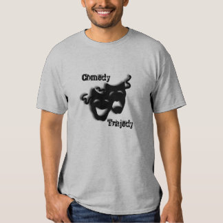 Comedy and Tragedy Theater Tee Shirt