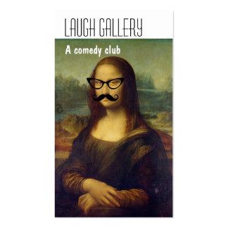 Comedy Club Business Cards