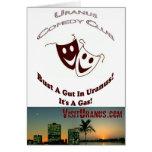 Comedy Club Card