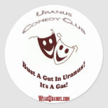 Comedy Club Round Sticker