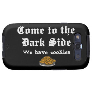 Comedy Come to the Dark Side Samsung Galaxy S3 Case