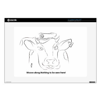 """Comedy Cow 15"""" Laptop Skin"""